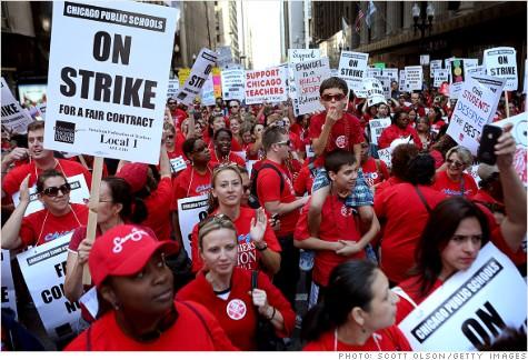 Chicago-strike